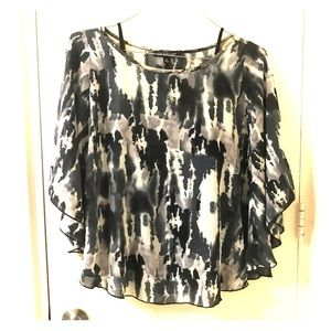 Paraphrase floral blouse with inner top size M